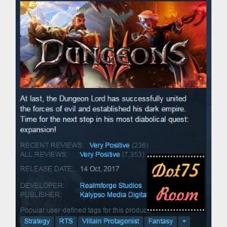 Dungeons 3●STEAM/Auto delivery