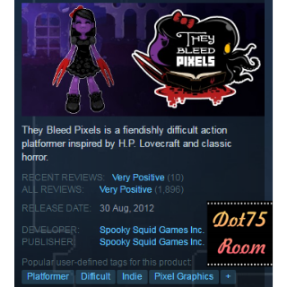 They Bleed Pixels●STEAM/Auto delivery