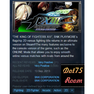 THE KING OF FIGHTERS XIII ●STEAM/Automatic delivery