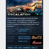 Ashes of the Singularity: Escalation●STEAM/Auto delivery
