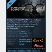 Deathgarden™: BLOODHARVEST●STEAM/Auto delivery