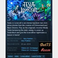 Tesla vs Lovecraft●STEAM/Auto delivery