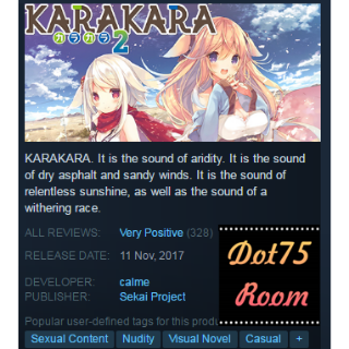 KARAKARA2●STEAM/Auto delivery