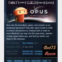 OPUS: The Day We Found Earth●STEAM/Auto delivery
