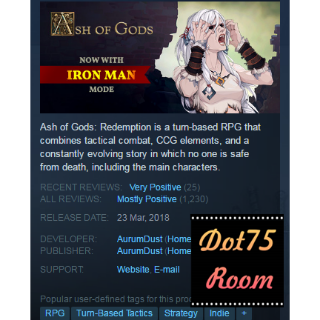Ash of Gods: Redemption●STEAM/Auto delivery