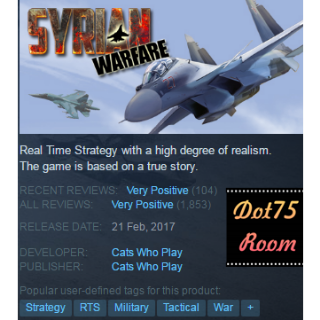 Syrian Warfare●STEAM/Automatic delivery