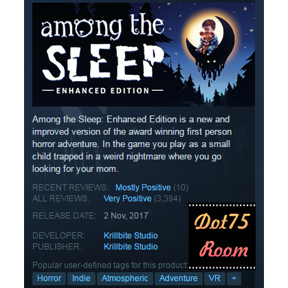 Among the Sleep - Enhanced Edition●STEAM/Auto delivery