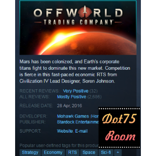 Offworld Trading Company + Jupiter's Forge Expansion Pack●STEAM/Auto delivery