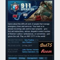 911 Operator●STEAM/Auto delivery