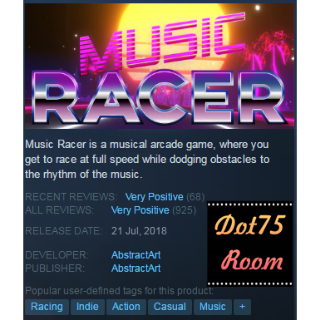 Music Racer●STEAM/Automatic delivery