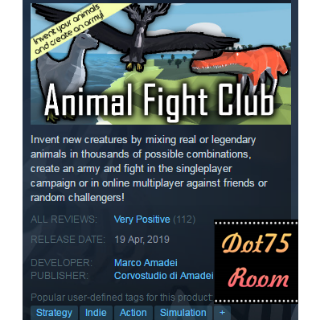 Animal Fight Club●STEAM/Auto delivery