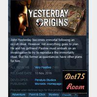 Yesterday Origins●STEAM/Auto delivery