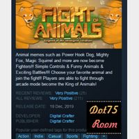 Fight of Animals●STEAM/Auto delivery