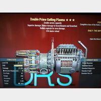 Weapon | DE FR Gatling plasma
