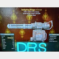 Weapon | Instigating Expl minigun