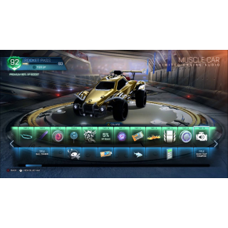 I will rank up 25-100 tiers on your rocket pass