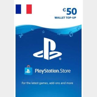 €50.00 PlayStation Store
