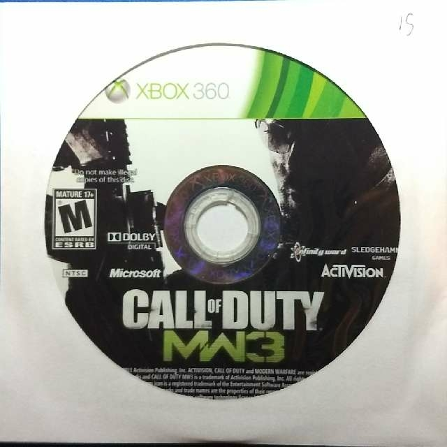 Call Of Duty Modern Warfare 3 Xbox 360 Games Good Gameflip