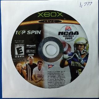NCAA Football 2005 Top Spin Combo