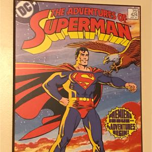 Superman Wood Plaque