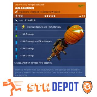 Jack O Launcher | 5x NATURE JACK´O 20/20