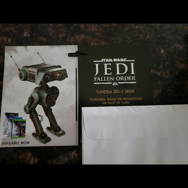 Star Wars Jedi Fallen Order Tundra BD-1 Skin