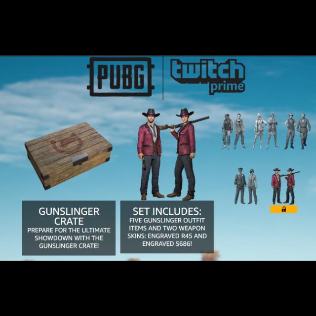 PUBG | PUBG Twitch Prime Gunsli - PlayerUnknown's