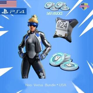 Code | Neo Versa+500 V-Bucks US