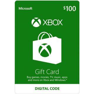 $100.00 Xbox Gift Card (3*30+10)