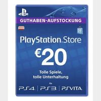 €20.00 PlayStation Store AUSTRIA