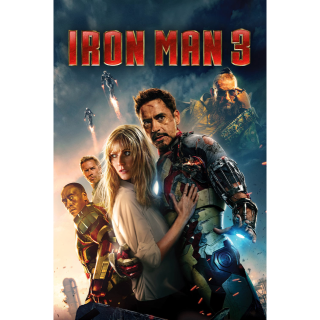 IRON MAN 3 ~DIGITAL CODE~ FROM 4K SET!! INSTANT DELIVERY!
