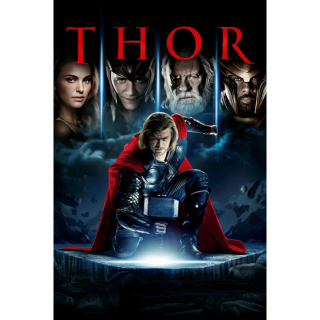 THOR ~DIGITAL CODE~ FROM 4K SET MOVIES ANYWHERE!
