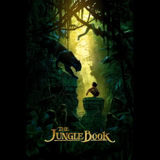 THE JUNGLE BOOK ~DIGITAL CODE~ DISNEY LIVE ACTION!