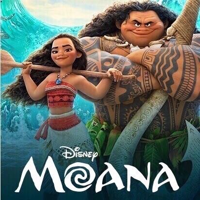 Disney's Moana (2016) HD Google Play Digital Code