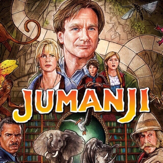Jumanji (1995) UHD/4K Movies Anywhere | VUDU Digital Code