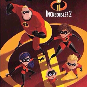 Pixar's The Incredibles 2 (2018) HD Google Play Digital Movie Code