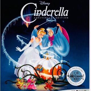 Cinderella Anniversary Edition (1950) HD Google Play Digital Code