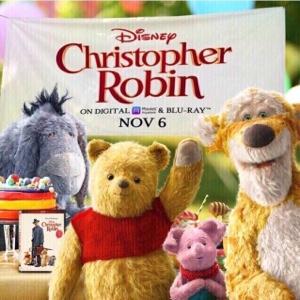 Christoper Robin (2018) HD Movies Anywhere   VUDU   iTunes Digital Code