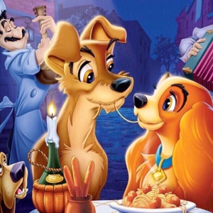 Disney's Lady & the Tramp (1955) HD Google Play Digital Movie Code