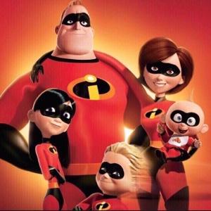 Pixar's The Incredibles (2004) HD Google Play Digital Movie Code