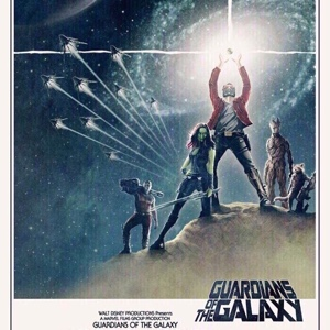 Guardians of the Galaxy (2014) HD Google Play Digital Movie Code