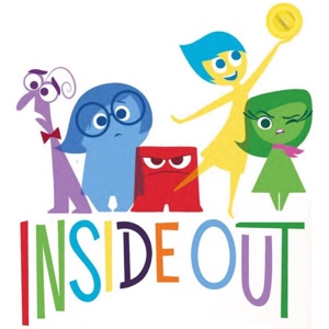 Pixar's Inside Out (2015) HD Movies Anywhere | VUDU | iTunes Digital Movie Code