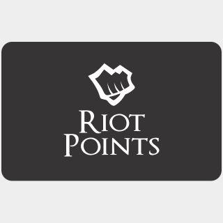 €50.00 Riot Points EU WEST