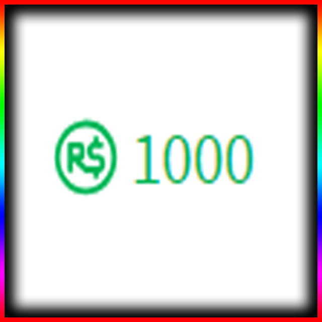 Bundle Roblox 1000 Robux In Game Items Gameflip