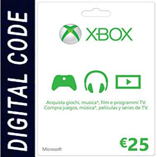 €25.00 Xbox Gift Card