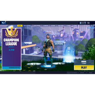 I will Get your Fortnite account to Champions League !