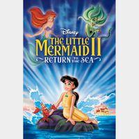 The Little Mermaid II: Return to the Sea MA HD verified