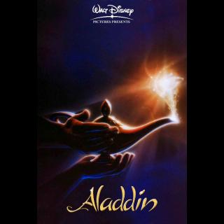 Aladdin 4K UHD MA verified