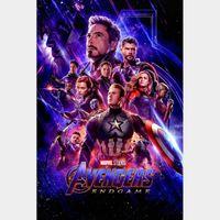 Avengers: Endgame 4K UHD MA verified