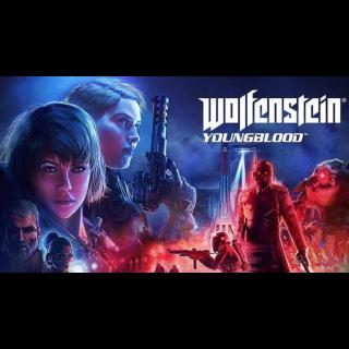 Wolfenstein Youngblood bethesda key GLOBAL